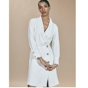 Limited edition NEW buttoned blazer dress. NWT